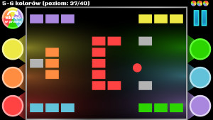 Zrzut ekranu pozimu 37/40 5-6 kolorów